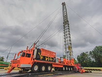 "Testing of mobile drilling unit ""Bear"""